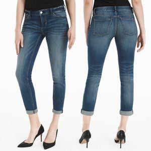 White House Black Market Slim Crop Jeans Size 4